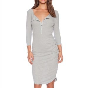 Standard James perse thermal Henley dress